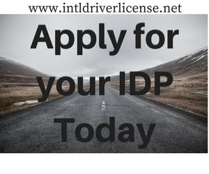 apply for your idp today